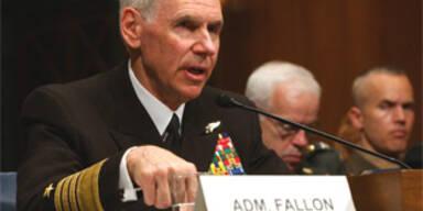 US-Nahost-Kommandant Fallon tritt zurück