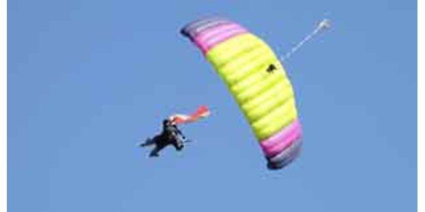 Base-Jumperin tot: Fallschirm ging nicht auf