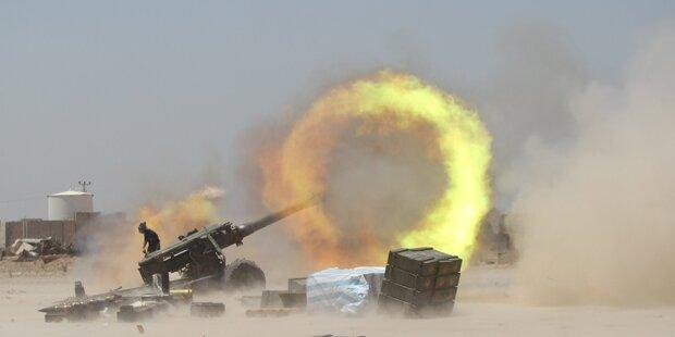 Irakische Truppen nach Falluja eingedrungen