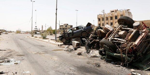 Armee tötete 150 fliehende IS-Jihadisten