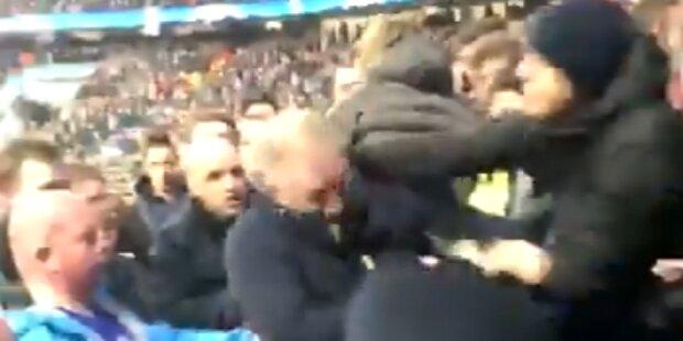 Liverpool-Fan in City-Sektor verprügelt