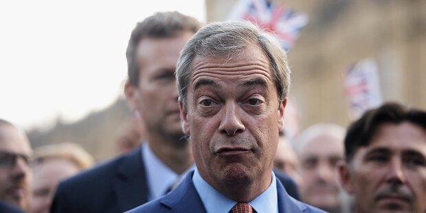 Farage plant Auftritt im EU-Parlament