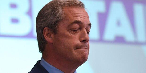 So lacht das Internet über den Farage-Rücktritt
