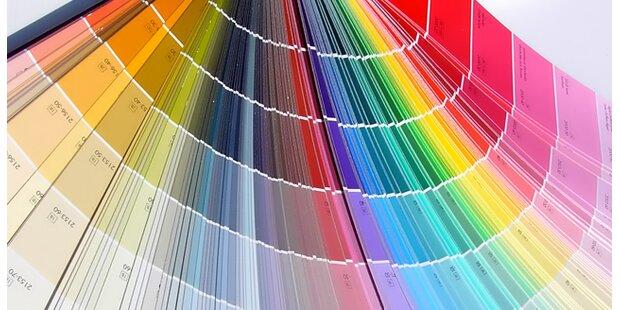 Farbig wohnen