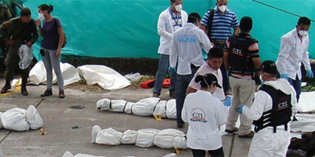 Militärchef der FARC-Rebellen getötet