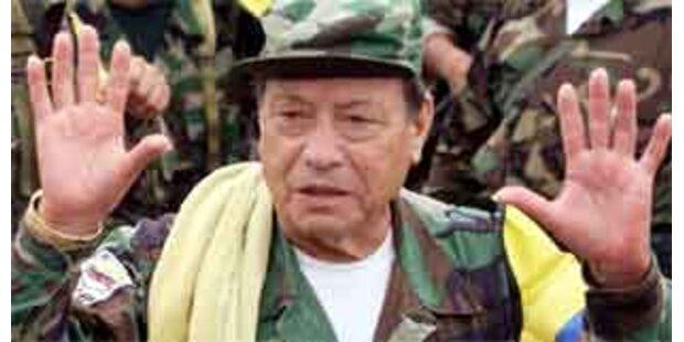 Chef kolumbianischer FARC-Rebellen tot