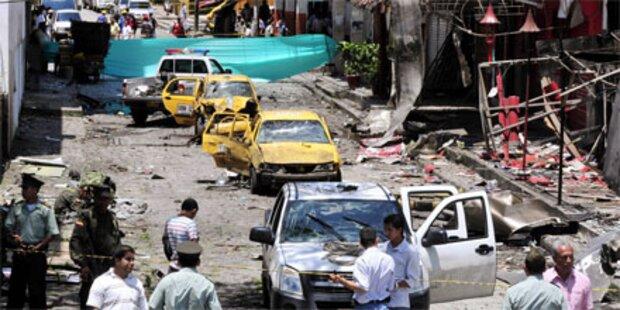 Neun Tote bei Anschlag in Kolumbien