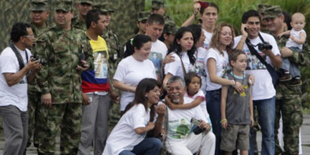 FARC-Rebellen lassen Geisel frei