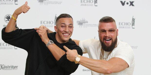 Skandal-Rapper: Nach Preis dann Prügelei