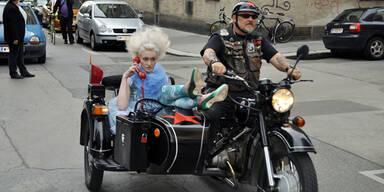 fashion:mob im Gemeindebau am 14. Mai 2011