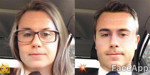 Hofer macht sich auf Facebook zur Frau