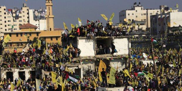Fatah-Massenkundgebung in Gaza