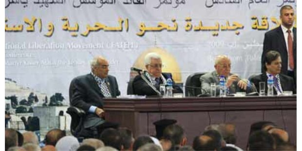 Lautstarke Proteste bei Fatah-Kongress
