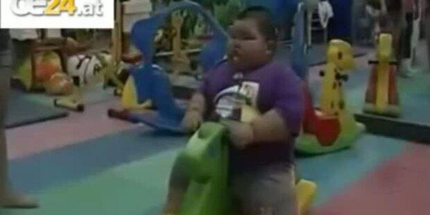 3-jähriger frisst sich zu Tode