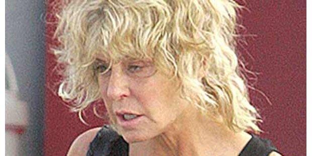 Farrah Fawcett bewusstlos im Spital