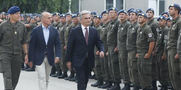 Soldaten für Bosnien-Einsatz geehrt