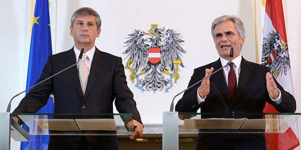 ÖVP-Chef greift jetzt die SPÖ an