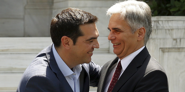Faymann Tsipras