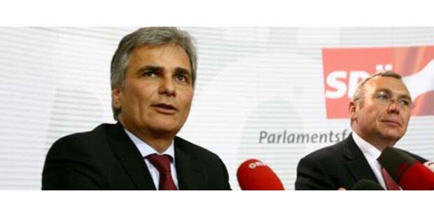 Von SP-Präsidium hängt Koalitionszukunft ab