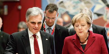 Faymann Merkel