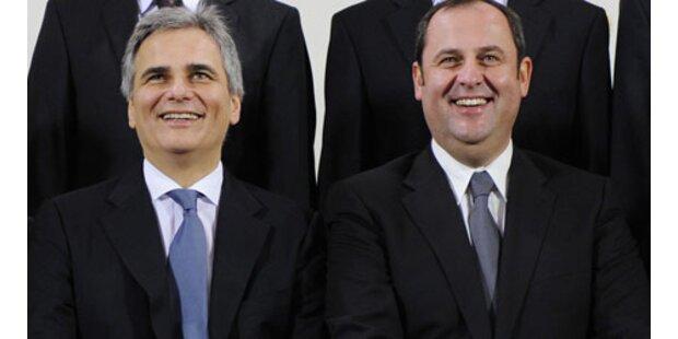 Neue SPÖ-ÖVP-Regierung wurde angelobt