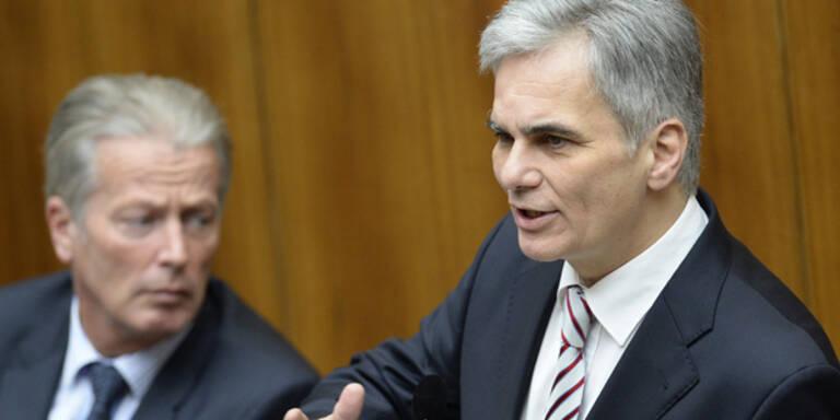 Koalition: Blaues Aug' vor Wien Wahl