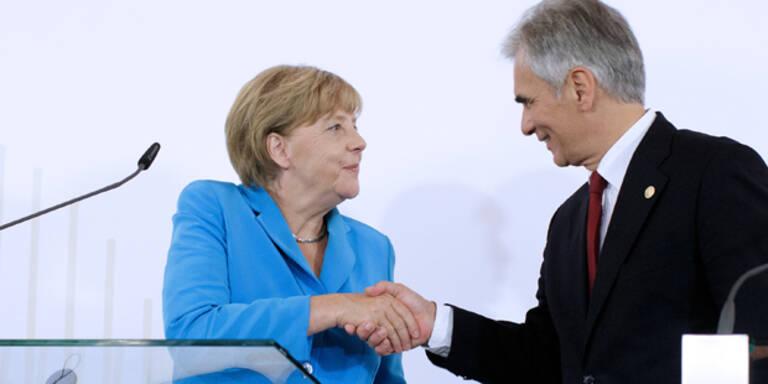 Flüchtlings-Drama: Faymann rief Merkel an