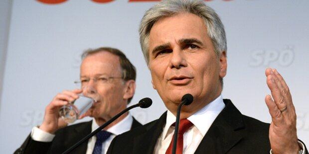 Minister stehen Faymann bei
