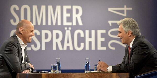 Faymann wütet gegen Strache