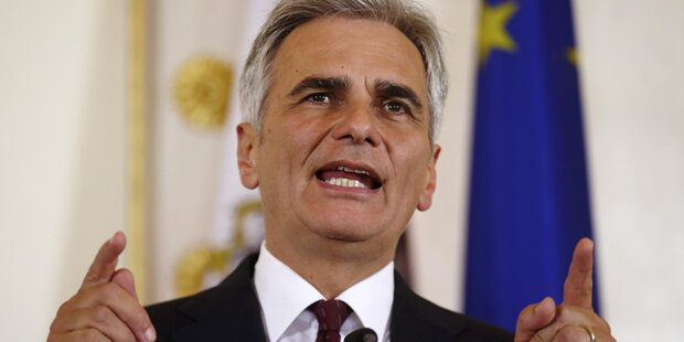 Kanzler Faymann attackiert Orban