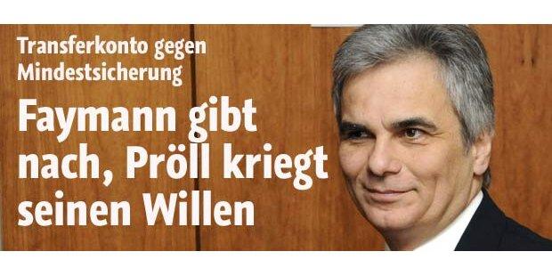 SPÖ gibt nach - ÖVP bekommt ihren Willen