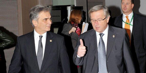 Juncker-Kritik an Österreichs Grenzkontrollen