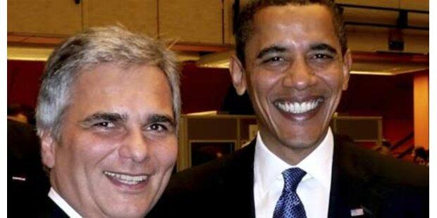 Faymann hofft auf Obama