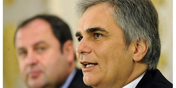 Parteien greifen zu tief in Steuertopf