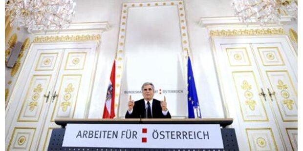 Faymann schnürt neues Konjunkturpaket