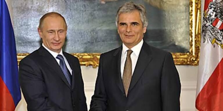 Österreich unterzeichnet Abkommen mit Russen
