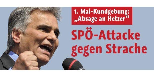 SPÖ wettert am 1. Mai gegen Strache