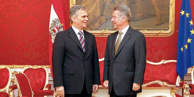 Präsident, Kanzler & Vize 'erobern' New York