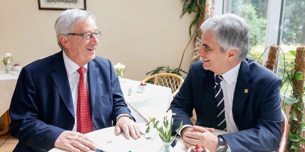 EU-Staatschefs wollen 2015 über Sanktionen entscheiden