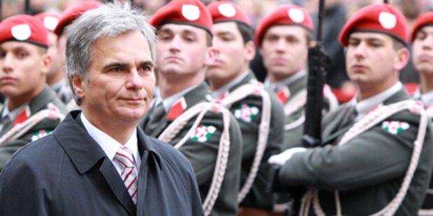 Bundeskanzler stößt Heeres-Debatte an
