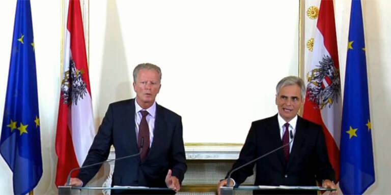 Flüchtlinge: Kanzler mobilisiert das Bundesheer