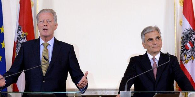 Flüchtlinge: ÖVP und SPÖ einigen sich
