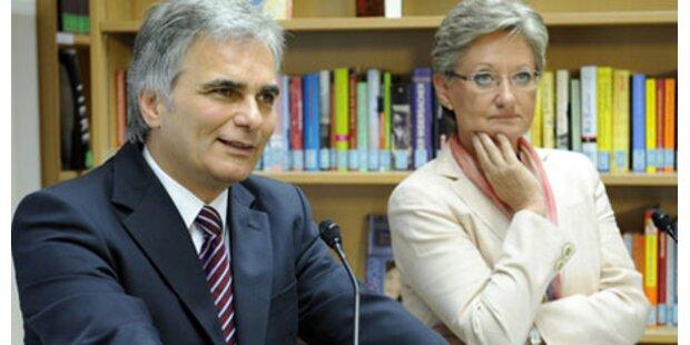 Faymann hält an Schulreform fest