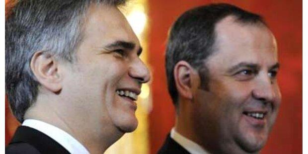 Top-Zeugnis für Koalitions-Spitze