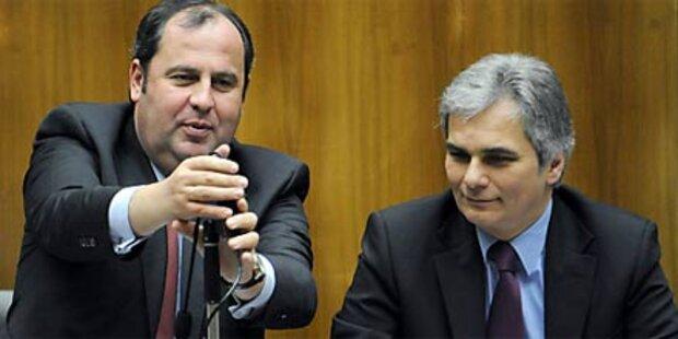 Kanzler legt Papier zur Bankenabgabe vor