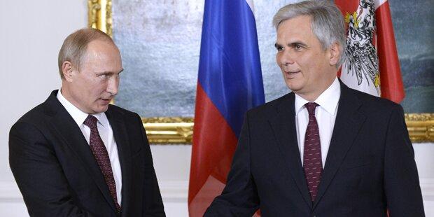 Putin will Friedens-Gipfel in Wien