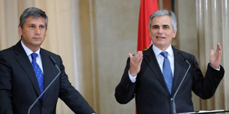 Regierung verteidigt Volksbank-Rettung