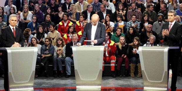 Koalition gegen TV-Konfrontation vor Wahl