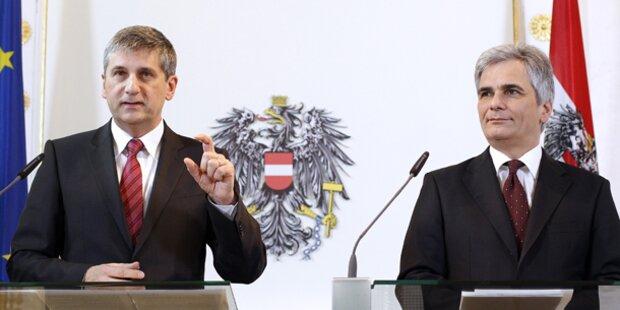 SPÖ bleibt auf Platz 1, FPÖ legt zu
