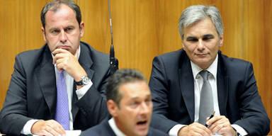 FPÖ holt SPÖ schon fast ein